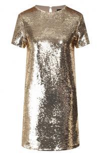 Платье с пайетками ea7 10695880