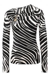 Шелковая блузка Versace 10296878