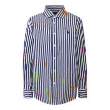 Хлопковая рубашка Polo Ralph Lauren 10790948