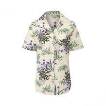 Рубашка из смеси хлопка и льна Kenzo 11042948