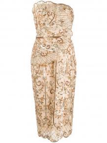 платье с пайетками без бретелей ZUHAIR MURAD 150849855156