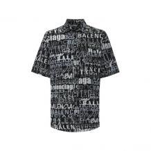 Шелковая рубашка Balenciaga 10212236