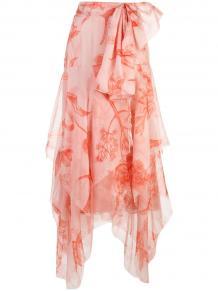 асимметричная юбка миди Johanna Ortiz 1361995950