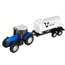 Машинка Teamsterz Трактор с цистерной HTI 15654382