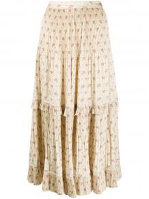 плиссированная юбка с цветочным принтом Polo Ralph Lauren 159035724950
