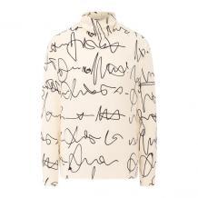 Шелковая рубашка Victoria Beckham 11080453