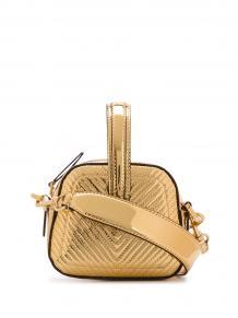 мини-сумка с узором шеврон MARCO DE VINCENZO 15178862636363633263