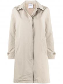 однобортное пальто на пуговицах ASPESI 1640629377