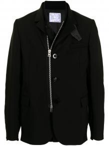 многослойный пиджак на молнии SACAI 1628825452