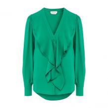 Шелковая блузка Alexander McQueen 10728589