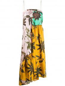 платье-бандо со вставками DOROTHEE SCHUMACHER 1512091250