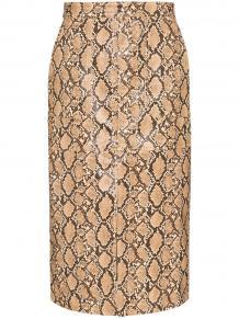 юбка-карандаш Poema со змеиным принтом Johanna Ortiz 1395159454