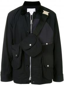 куртка с поясной сумкой SACAI 1557197050