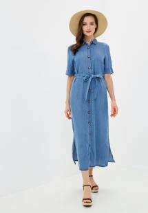 Платье джинсовое INCITY MP002XW15B7GR480