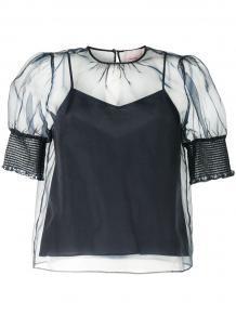 блузка Eleni с сетчатым верхом CINQ À SEPT 157844048883