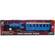 Паровозик Roadsterz голубой с вагоном, HTI 6908023