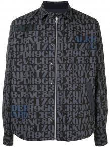 куртка-рубашка с монограммой SACAI 1557199351