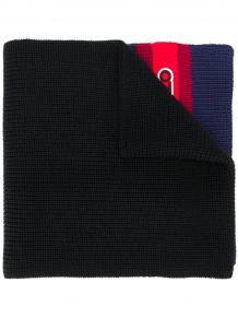 вязаный шарф с нашивкой-логотипом Kenzo 14351481636363633263