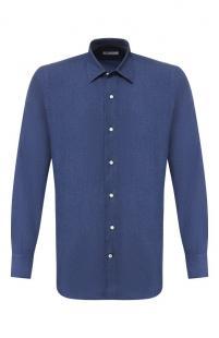 Хлопковая рубашка Loro Piana 10501112