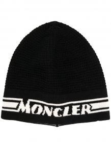 шапка вязки интарсия Moncler Enfant 1606085777