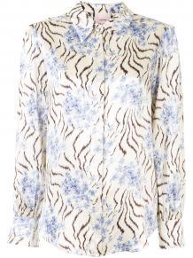 рубашка Eli с цветочным принтом CINQ À SEPT 15201077888883