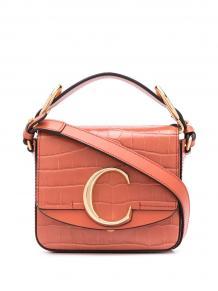 мини-сумка с металлическим логотипом Chloe 15549292636363633263