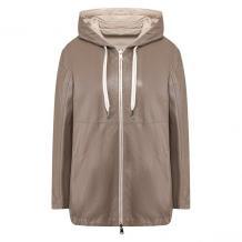Кожаная куртка BRUNELLO CUCINELLI 10763516