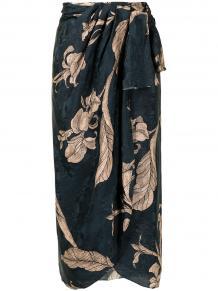 юбка миди с запахом Johanna Ortiz 1612568950