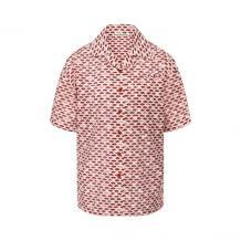 Хлопковая рубашка ACNE STUDIOS 11074007
