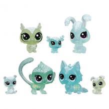 """Набор фигурок Littlest Pet Shop """"Холодное царство"""", 7 бирюзовых петов Hasbro 12267521"""