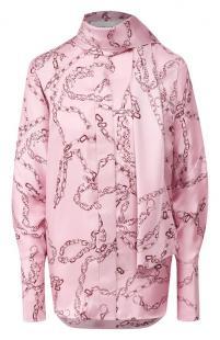 Шелковая блузка Victoria Beckham 10635503