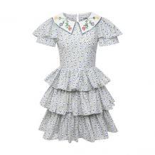 Хлопковое платье VIVETTA 11810207