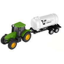 Машинка Teamsterz Трактор с цистерной HTI 15654381