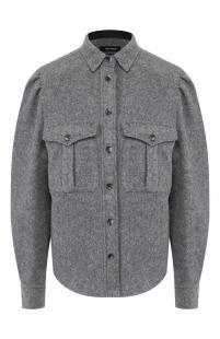 Шерстяная рубашка Isabel Marant 10606166
