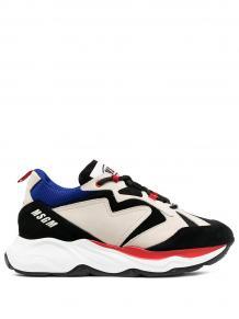 кроссовки с контрастными вставками MSGM 158297195253