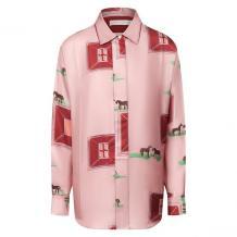 Шелковая рубашка Victoria Beckham 11043011