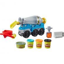 Игровой набор Play-Doh Wheels Бетономешалка Hasbro 13710909