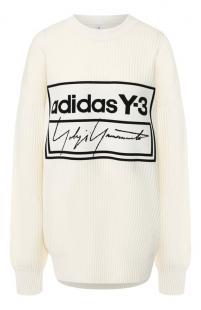 Шерстяной свитер Y-3 10606442