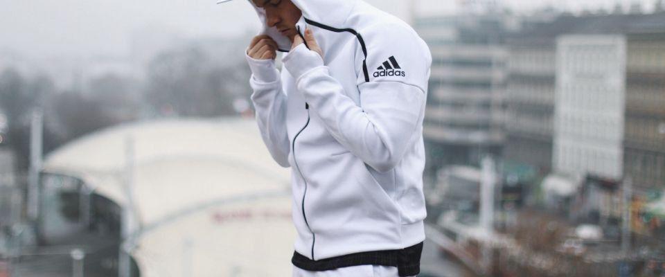 Мужские толстовки и свитшоты Adidas фото