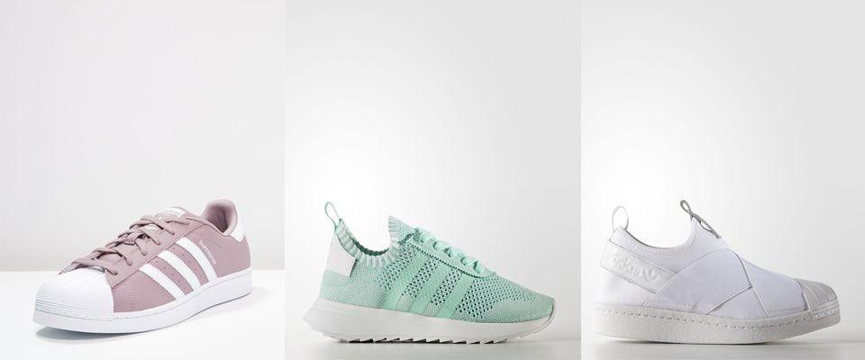 Женские кроссовки и кеды Adidas фото