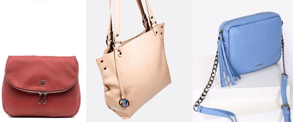 Женские сумки Afina фото