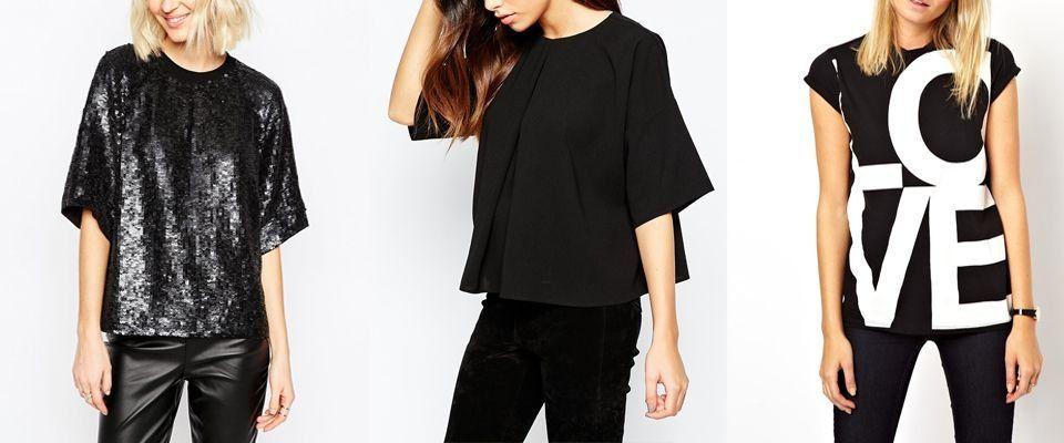 черные футболки фото