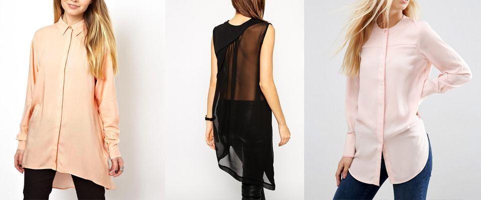 блузы туники фото