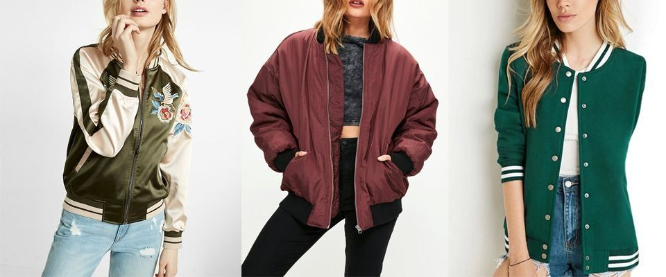 куртка бомбер фото