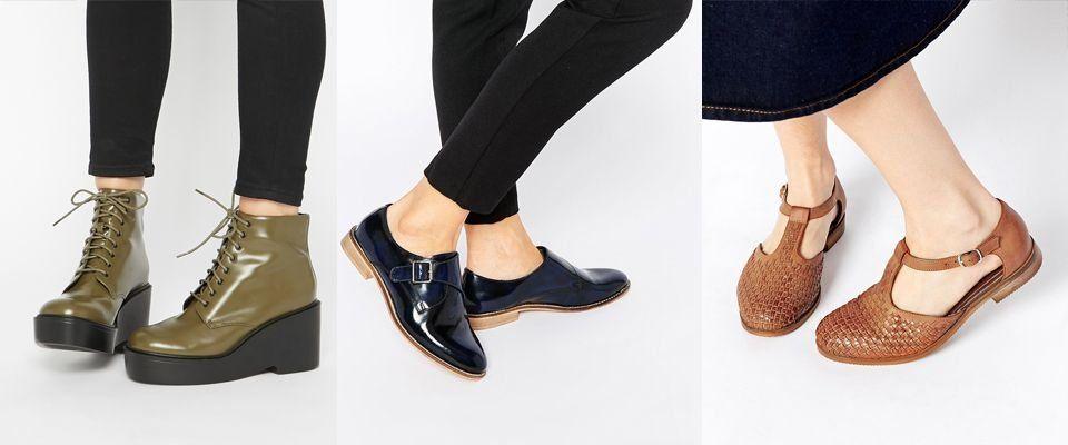 кожаные женские ботинки фото