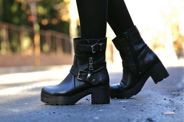 Ботинки бунтарей и хиппи: модная обувь в стиле гранж