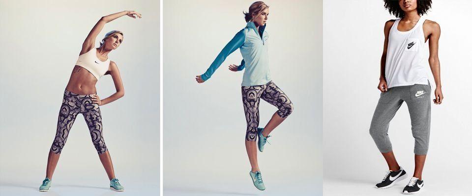 Женская одежда для спорта и отдыха фото