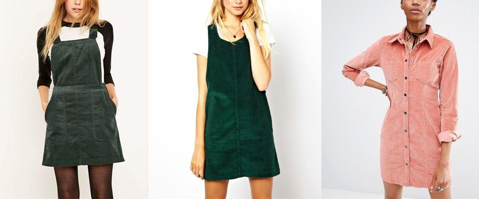 вельветовые платья фото