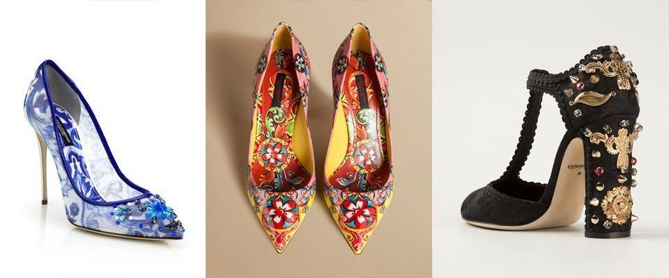 Женские туфли Dolce&Gabbana фото