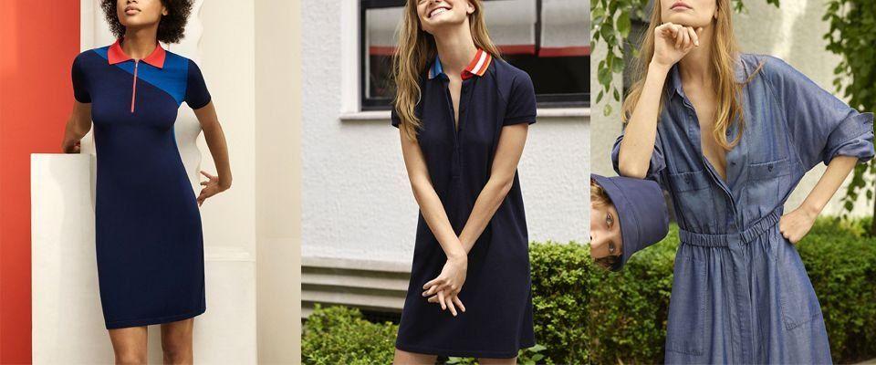 Женские платья Lacoste фото